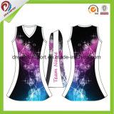 Desgaste Netball Sublimação personalizados uniformes Netball Netball Jersey para Mulheres