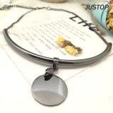 方法金属短いネックレスのための模造宝石類銃金属の真鍮の鎖