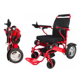 HochleistungsaluminiumPortable, der elektrischen Rollstuhl für Sperrung faltet