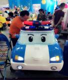Het elektrische Stuk speelgoed van de Politiewagen met Lichten (ss-7)