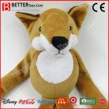 승진 선물 아이를 위한 연약한 박제 동물 견면 벨벳 Fox 장난감