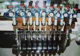 Automatischer elektronischer Hochgeschwindigkeitsfilm-aufschlitzende Maschine und Rückspulenmaschine mit flachem Messer