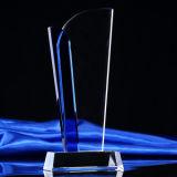[هيغقوليتي] واضحة زجاجيّة بلّوريّة درع غنيمة مكافأة لوح معدنيّ مع قاعدة
