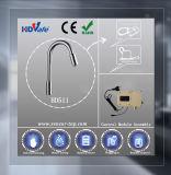 Colpetto di acqua automatico del collo di RoHS del Ce della parte girevole lunga del becco per la cucina, bacino, stanza da bagno
