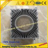 Dissipador de calor do alumínio do OEM 6063/6061 T5 T6