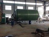 O CNC controla a máquina de enrolamento horizontal do tanque de FRP GRP