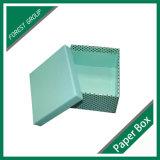 Caixa de papel do presente superior e inferior para a embalagem cosmética