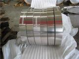 Tira de la bobina de aluminio para uso industrial.