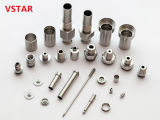 ニッケルメッキのステンレス鋼の部品を機械で造る高品質CNC