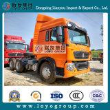 중국 Sinotruk HOWO T5g 10wheel 트랙터 트럭
