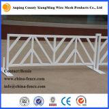 Revestido de PVC de cor branca do tráfego do tubo quadrado (XMR Barricade135)