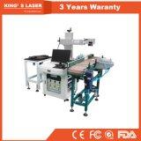 Marcador automático do laser da máquina da marcação do laser do rolamento