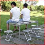 Складной столик сегрегата таблицы пикника поставкы алюминиевый