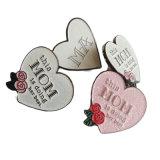 Duro Heart-Shaped di vendita caldo/delicatamente di calore Pin dello smalto, Pin del risvolto, distintivo del metallo/perni di metallo (YB-lp-18)