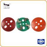4 Teethes алмазного инструмента шлифовки обувь и пластины на бетонный пол