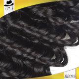 인간적인 Hair/10A 브라질 머리 연장 또는 Virgin 머리