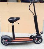400Wモーターを搭載する電気スクーターを立てること
