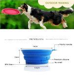 En gros accessoires pour animaux de compagnie produit chien bol d'alimentation en silicone