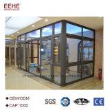L'extérieur de la fenêtre d'aluminium véranda vitrée personnalisé