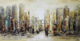 Самомоднейшая абстрактная картина Oill для города