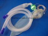Circuit de respiration d'anesthésie médicaux jetables tube