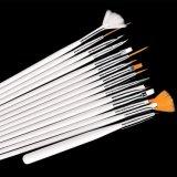 Kits de vente de bois Professiona chaud Art Design Brosse à ongles