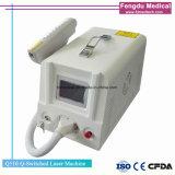 Tatouage effective spot dépose la machine Q Commutateur laser YAG ND