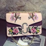 カスタム方法刺繍の空想の女性ハンド・バッグの有名なブランドの女性のショルダー・バッグSy8494