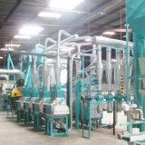 해외 서비스 10tpd, 30tpd, 50tpd 의 100tpd 옥수수 가루 맷돌로 가는 기계장치