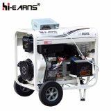 Type de bâti ouvert refroidi à l'air début électrique triphasé de générateur diesel (DG8000E)