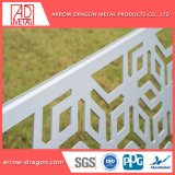 El espejo negro de corte láser de acero inoxidable Indicador// tallado paneles grabados balcón/Baranda escalera/ balaustradapaneles de relleno