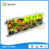 Ecrã ultra panorâmico com estrutura aberta 7.3 polegadas LCD Monitor com resolução de 1280*400 (MW-075MH)