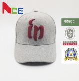 De Shenzhen do OEM da forma do poliéster chapéu 100% de basebol com bordado 3D