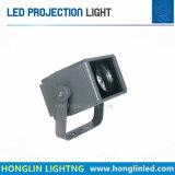 屋外の床ライト50W 60W LEDフラッドライトをつける景色