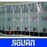 Autoadesivo a resina epossidica rotondo dell'adesivo stampato autoadesivo a resina epossidica su ordinazione 3m
