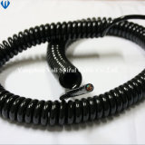 Multi-Coeurs 13 Core PU Veste cable spirale enroulée