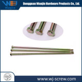 Customized DIN609 Galvanized Plated Hexagonal Head Metal Long Screw