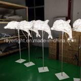 Xmas 프로젝트 점화 훈장 LED 동물성 조각품 LED 백조 훈장