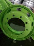 高品質のチューブレス鋼鉄バスおよびトラックの車輪の縁、トラックのための鋼鉄車輪の縁