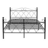 Nueva llegada dormitorio cama de metal marco