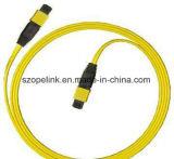 Mpo-MPO Simplex van Sm van het Koord van het Flard van de Vezel fc-FC het Optische voor Qsfp - Qsfp