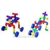 Het magische Misvormde OnderwijsStuk speelgoed van de Bouwstenen van de Pijpleiding
