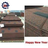 Wanteのブランドの石のフィリピンの上塗を施してある金属の屋根瓦