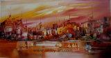 Arte nordica di Wilkinson della pittura a olio Handmade dell'orizzonte su tela di canapa