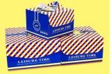 Caja de cartón estándar y en la casilla que hace la máquina (GK-1050G)