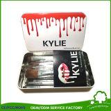 El maquillaje blanco de Kylie de la belleza del distribuidor al por mayor de la fuente aplica 5PCS con brocha con el bolso