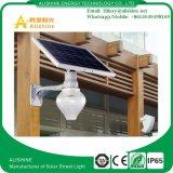 Lumière solaire toute de mur de la qualité 12W dans un réverbère de DEL