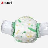 中国の安い工場卸売価格の使い捨て可能で眠い赤ん坊のおむつの製造業者