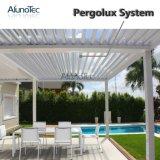 Pergola die van het Aluminium Raiproof van lage Kosten de Regelbare voor Balkon openen