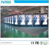 3G, das LED-Bildschirm-video Innenbewegung P5 mit Rad-Telefon-Form LED-Bildschirmanzeige bekanntmacht